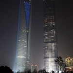SWFC Tower i Jin Mao Tower